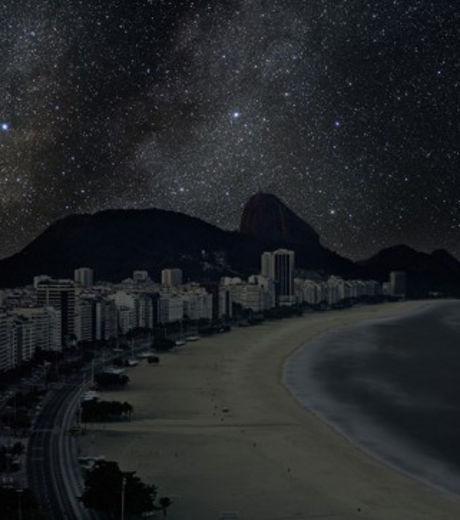 La plage de Copacabana à Rio