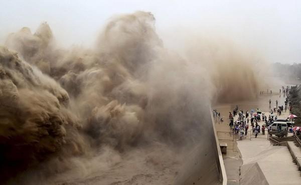 Aux premières loges d'une tempête de sable