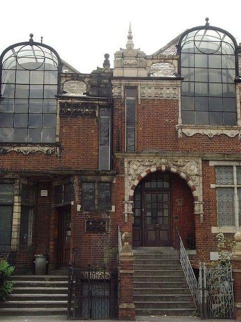 Maisons abandonnées à Londres