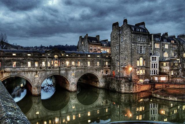 Le pont habité de Bath