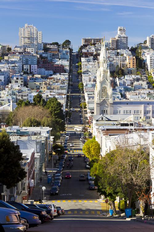 Filbert Street à San Francisco