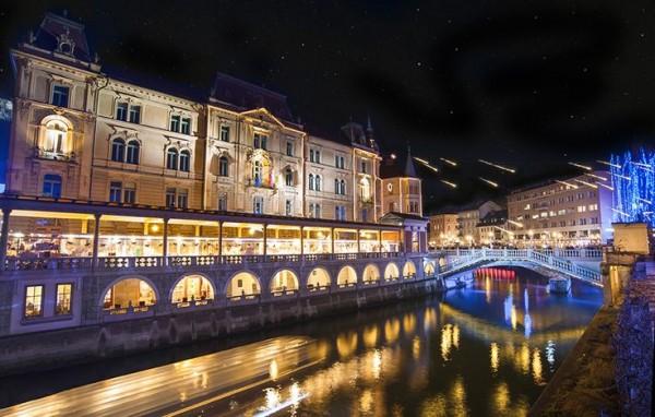 """Ljubljana en Slovènie, un futur """"classique"""" européen"""