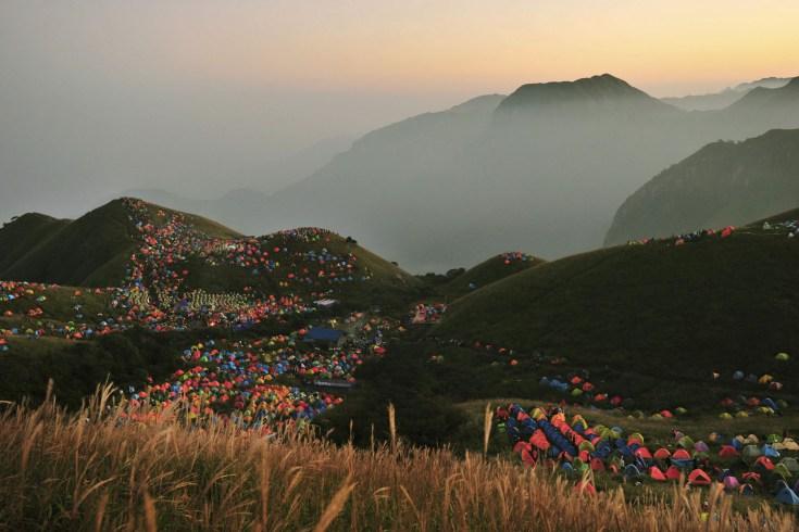 Festival du camping en Chine