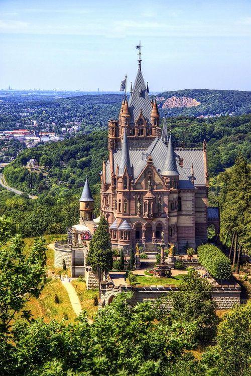 Le château de Drachenburg en Allemagne