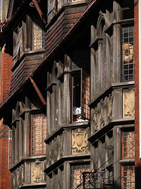 Les fenêtres ancestrales  de Bristol