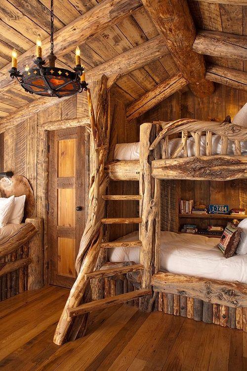 Une maison 100% en bois!