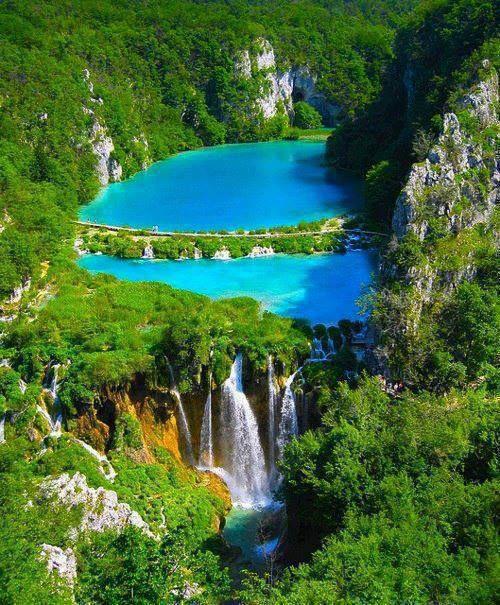 Le lac Plitvice en Croatie