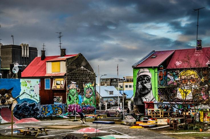 Le streetart version Reykjavik
