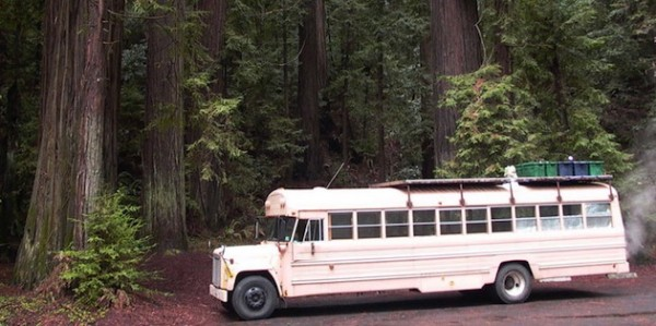 Un School Bus transformé en camping car de luxe!
