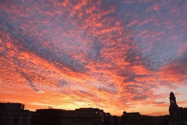 Couché de soleil sur Washington