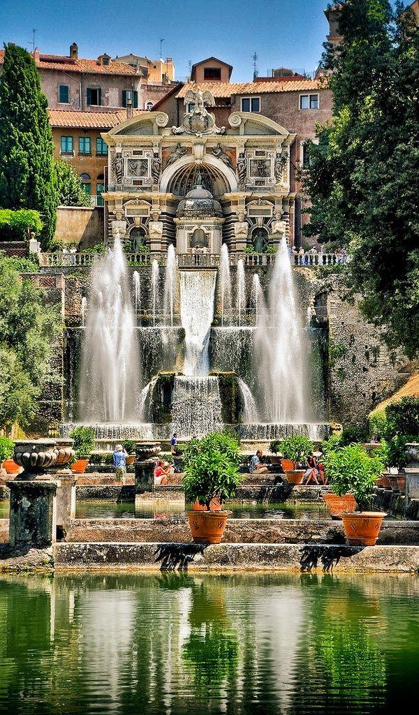 La Villa d'Este à Tivoli