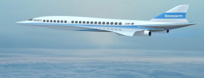 Londres – New York en 3h30 avec le projet d'avion supersonic Boom de Virgin