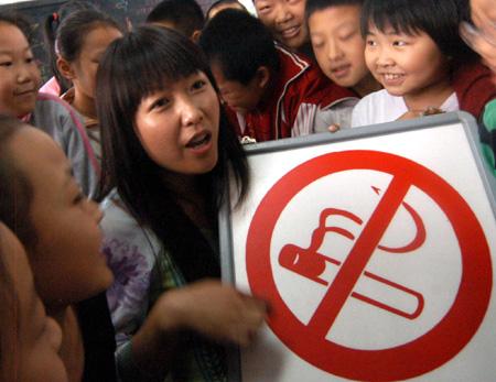 Chine – Interdiction de fumer dans les lieux publics