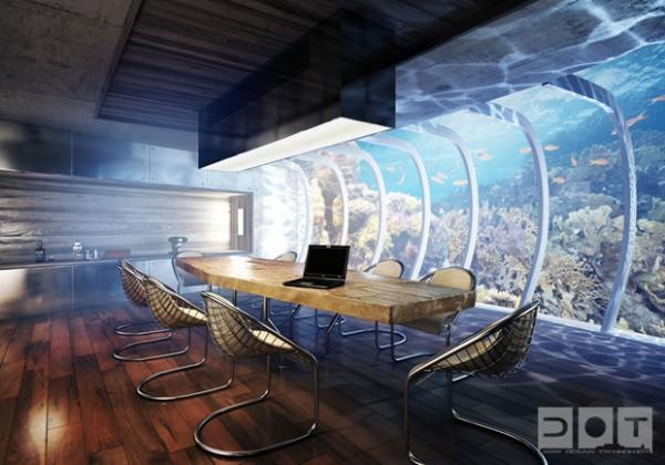 Un projet fou d'hôtel sous-marin à Dubaï