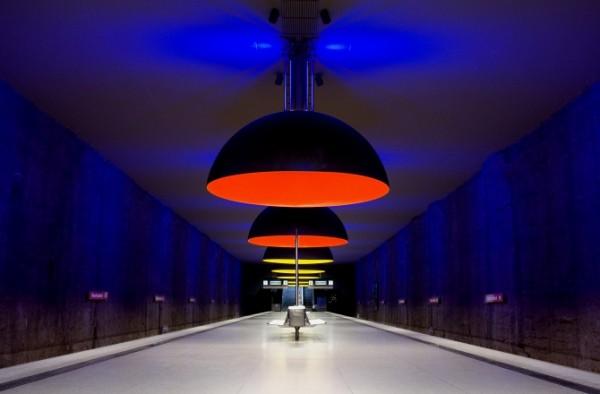 Les 15 plus belles stations de métro dans le monde