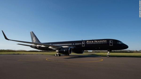 Le Boeing 757 Four Seasons Jet: cinq étoiles pour faire le tour du monde