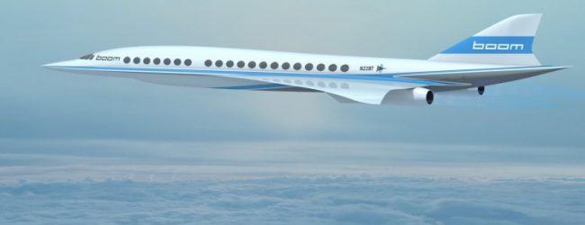 Londres – New York en 3h30 avec le projet d'avion supersonic Boom de Virgin